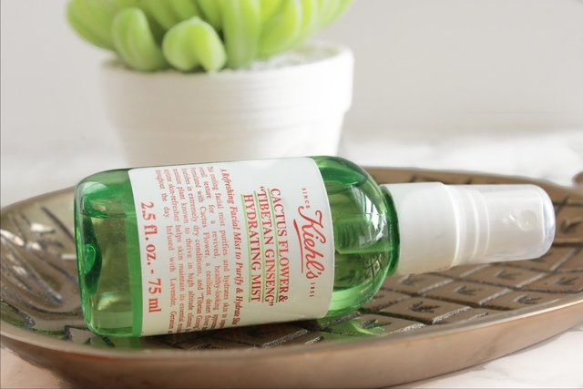 For Dry Skins in Summer! Kiehl's Cactus Flower & Tibetan Ginseng Hydrating Mist