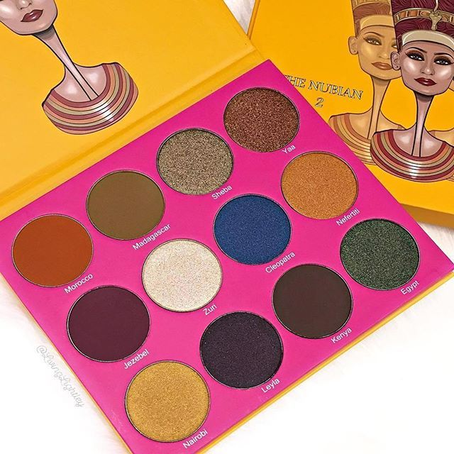 Juvia's Place Eyeshadow Palettes. One of the most popular eyeshadow palettes this year!
