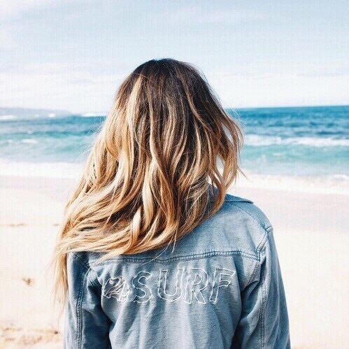 2017 Beauty Trend Forecasts! Surf Girl Hair Style!