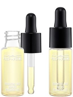 Essential oil for face makeup! MAC Cosmetics Prep + Prime Essential Oils