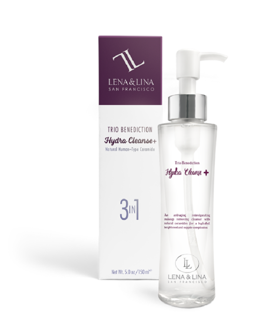 A Gentle and Moisturizing Cleansing Routine with Hydra Cleanse+ by Lena & Lina