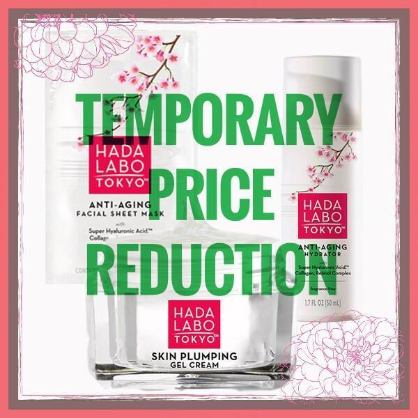 Limited Time Only! Get HADALABO TOKYO Price Reduction!