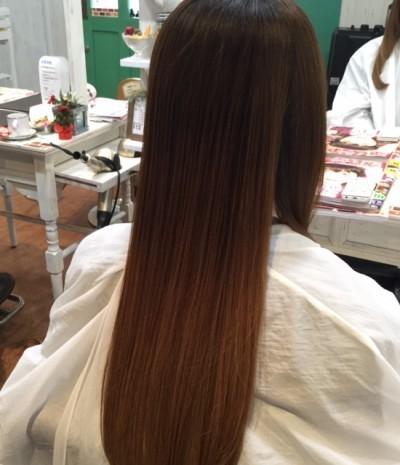 またまたヘアビューロンストレートとラコトリートメントでツヤさら髪に! | 三郷の美容室・美容院|laco hair (ラコヘアー) (34)