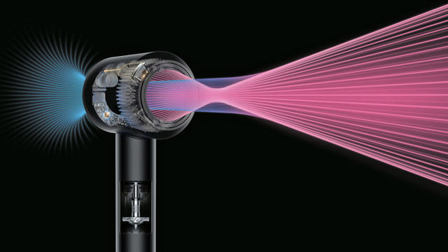 Dyson Redesigned the Hair Dryer So It's Easier and Safer to Use (779)