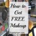 ☆Secret Way To Get Free Makeup Cosmetics☆Get a lot of them!!!