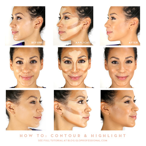 glo How-To: Contour and Highlight | Gorgeous | Pinterest | Contours, Highlights and Contouring (3097)