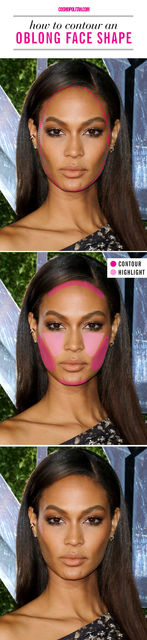 How to Contour for Your Face Shape - Best Way to Use Contouring Makeup and Highlighters (3101)