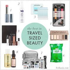 ☆Best 7 Travel Size Beauty Products☆