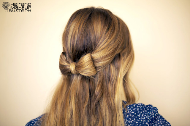 Hair and Make-up by Steph: How To:  Hair Bow (4070)
