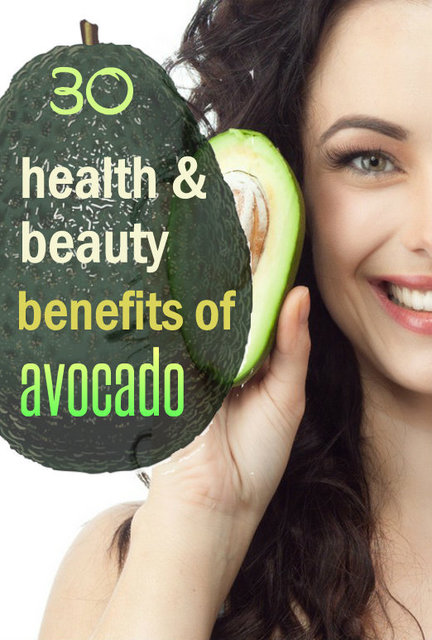 Avocado : Surprising Health and Beauty Benefits!!