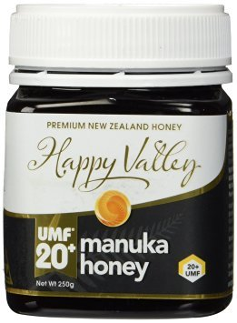 Amazon.com : Happy Valley UMF 20+ Manuka Honey, 250g (8.8oz) : Grocery & Gourmet Food (4739)