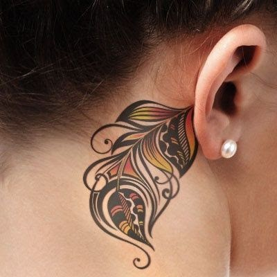 55 Best Ear Tattoos Designs and Ideas For Women (4835)