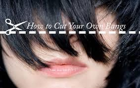 How to Cut Your Bangs at Home | Knoworthy (5090)