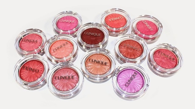 Clinique Cheek Pop Blushes : Plum Pop, Melon Pop, Ginger Pop...