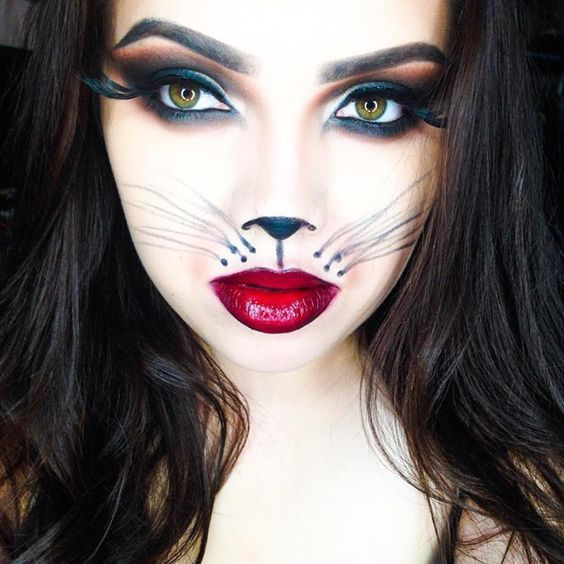 ☆Best 20 Halloween A Cat Makeup Ideas for 2016☆