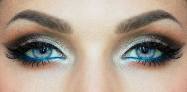 Modern Blue Eye Makeup Tutorial - Video Dailymotion (6803)