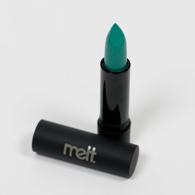 Melt Cosmetics Lipstick in Blitzed Review — rebeccashoresmua.com (6856)