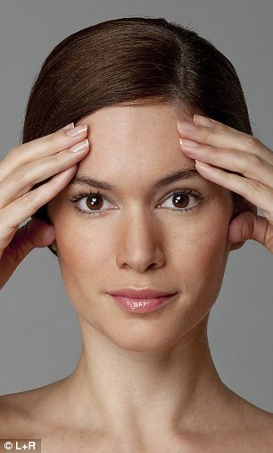 The ultimate facercise: Forget Botox... in just six days you can get a firmer face naturally | Daily Mail Online (7100)