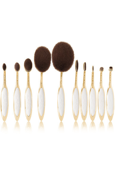 Artis Brush | Elite Gold 10 Brush Set | NET-A-PORTER.COM (7301)