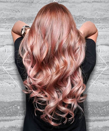 19 Rose Gold Hair Color Looks to Try Right Now (7898)