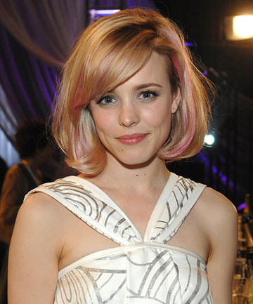 Rachel McAdams' Rose Gold Retro Volume , 19 Rose Gold Hair Color Looks That Absolutely SLAY - (Page 6) (7903)
