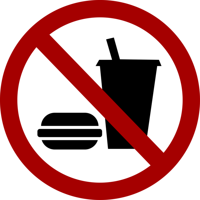 Clipart - no-food-drink (8909)