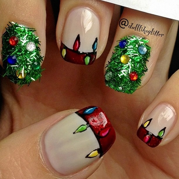 Lovely   Nail Art Christmas Tree - Christmas Moment (9048)