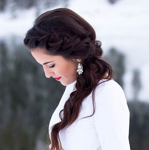 40 Sparkly Christmas and New Year Eve Hairstyles (9111)
