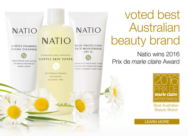 """NATIO""  I RECOMMEND 3 NATURAL ORGANIC SKIN COSMETICS"