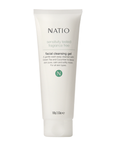 Natio - Sensitive Skin Facial Cleansing Gel (9615)