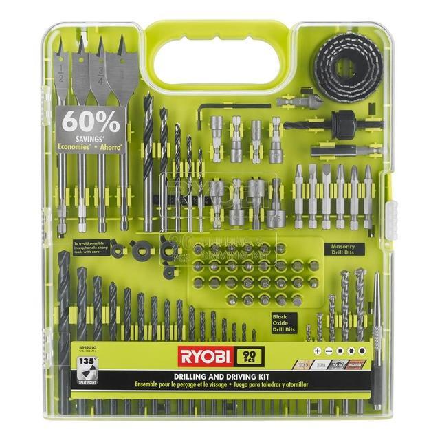 Ryobi Drill and Drive Kit (...