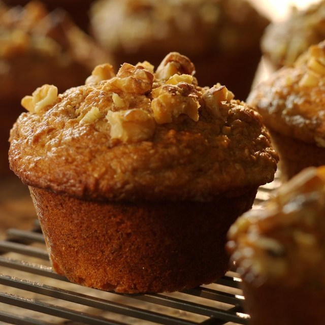 Banana-Bran Muffins Recipe - EatingWell.com (10463)