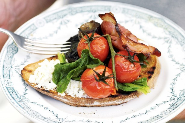 Breakfast Bruschetta Recipe - Taste.com.au (10505)