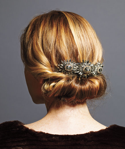 Roll-Up | Holiday Hairstyles That Are Downright Stunning—and Deceptively Easy | Real Simple (11620)