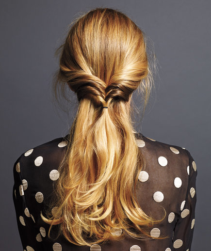 Triple Flip | Holiday Hairstyles That Are Downright Stunning—and Deceptively Easy | Real Simple (11629)