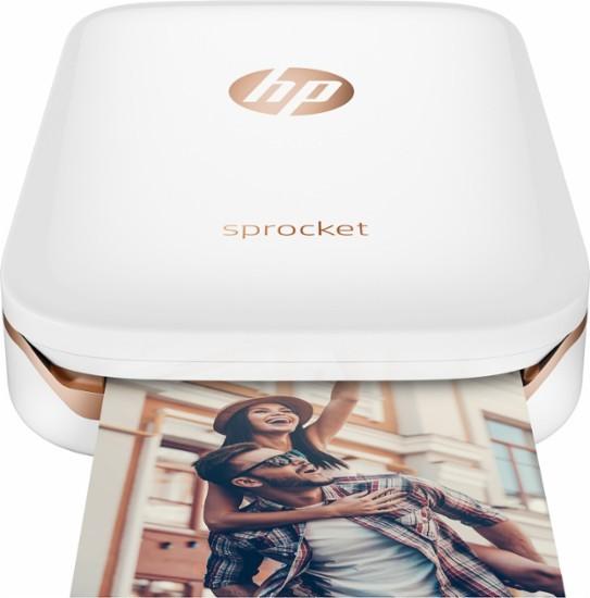 HP Sprocket Photo Printer White X7N07A - Best Buy (11802)