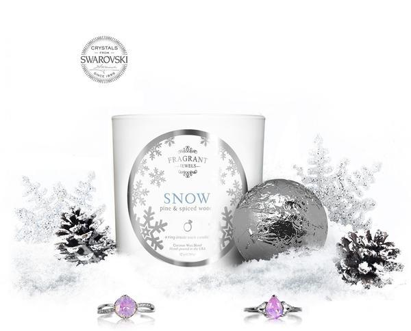 Snow - Candle & Bath Bomb G...