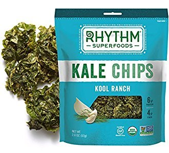 Amazon.com: Rhythm Superfoods Kale Chips, Kool Ranch, 2 Ounce, 4 Count (13877)
