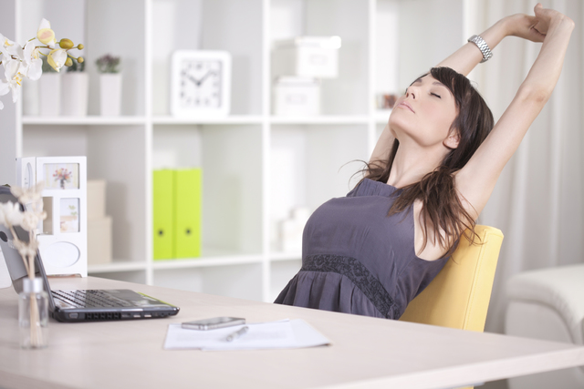 Ergonomics and Easy Stretches for Your Home Office   Ashford University (14306)