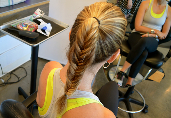 How Do You Style Your Hair For Exercise Workout Hairstyle For Long