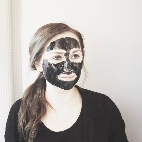 latest video // 2 ingredient charcoal masklink in bio ✌🏼 by by brie   WHI (16369)