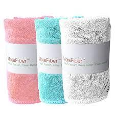 Amazon.com: Plush MojaFiber Microfiber Face Cloth: Ultra Dense 3 Pk | Exfoliate & Cleanse Pores | Easily Remove Makeup & Dead Skin Cells | Water or Light Soap | Tighten Skin & New Skin Growth, Variety: Beauty (17243)