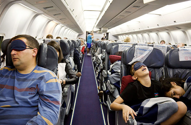 How to sleep nothing problem on the plane?