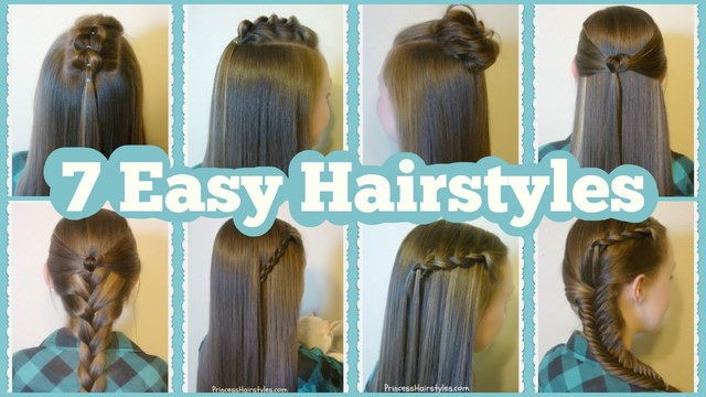 Easy 5 Minute Hairstyles Youtube Perfectly Mosspink Shibazakura